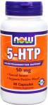 Антистесс, улучшение работы мозга NOW Foods 5-HTP 50mg 90 caps