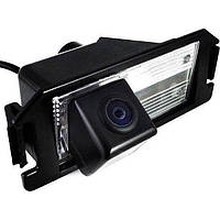 Штатная камера заднего вида Falcon SC38HCCD. Hyuindai I30/RohensCoupe. Kia Soul
