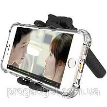 ESCASE ZPG 05 Selfie Stick Black Селфи-палка подойдёт к любому айфону или смартфону!