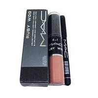 Набор для макияжа губ MAC 4 in 1 204 #B/E