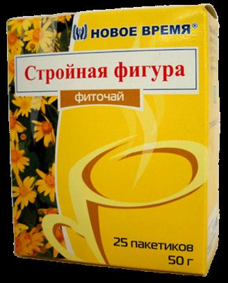 """Фиточай """"Стройная фигура"""" Новое время, 25 пак. (50 г)"""