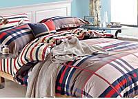 Двуспальное постельное белье ТЕП Шотландка