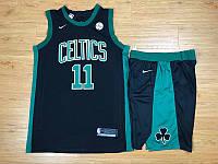 Чорна форма(шорти+футболка) Nike Boston Celtics NBA Kyrie Irving