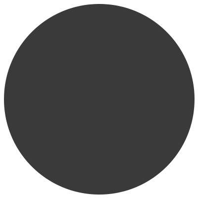 Серая темная сплошная покраска линзы для очков