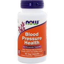 NOW Foods Blood Pressure Health 90 caps