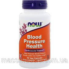 Здоровье сердечно-сосудистой NOW Foods Blood Pressure Health 90 caps