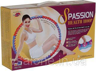 Масажний Обруч розбірної S Passion Health Hoop Хула Хуп 2,0 кг