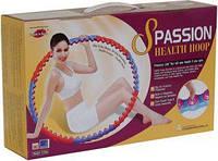 Масажний Обруч розбірної S Passion Health Hoop Хула Хуп 2,0 кг, фото 1