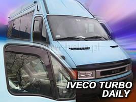 Дефлекторы окон (ветровики)  Iveko Turbo Daily 35C/35S/50C/60C/65C 2000-> 2шт (Heko)