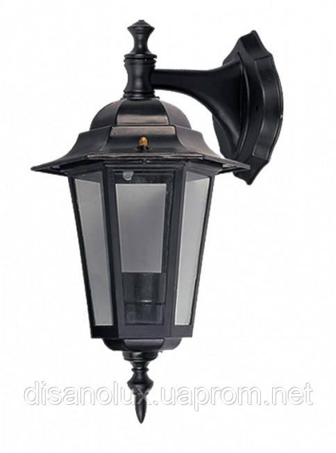 Светильник парковый   PALACE A02  Е27 60вт черный-серебро IP44