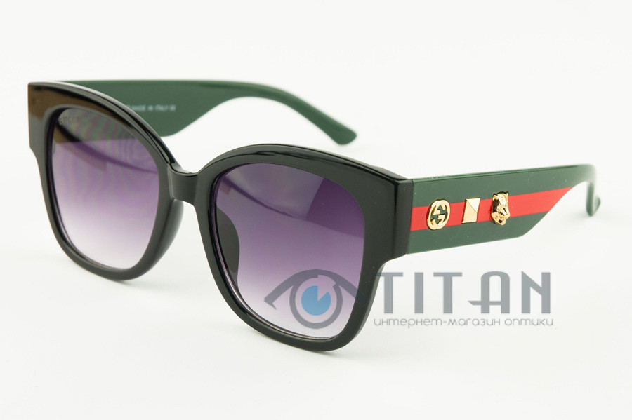 Солнечные очки Gucci 0059 C1 Женские модные