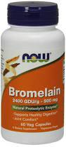 NOW Foods Bromelain 500mg 60 caps