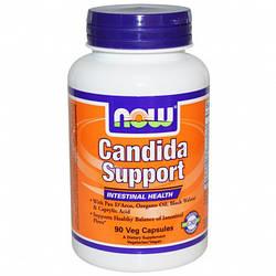 Антигрибковое, противовирусное средство NOW Foods Candida Support 90 caps