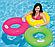 Надувний круг для плавання Intex 59258, 76 см, оранжевий, з тримачами для рук, фото 4