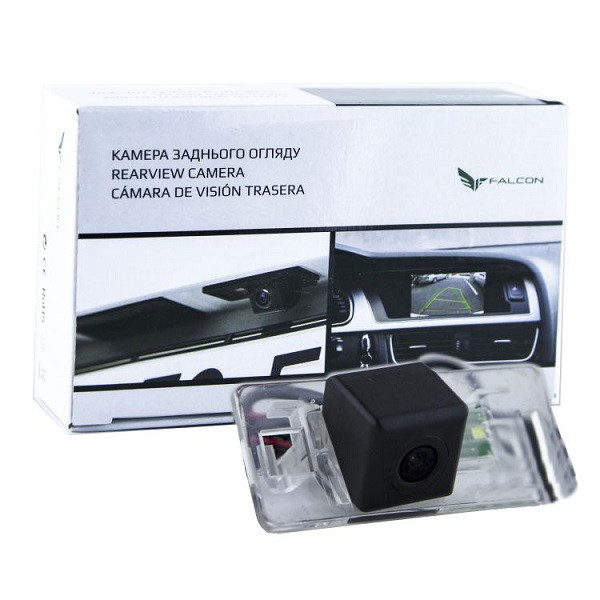Штатная камера заднего вида Falcon SC53-HCCD. Audi A1 2010+/A4 2008-2013/A5 2007+/A6 2011+/A7 2010+/Q3