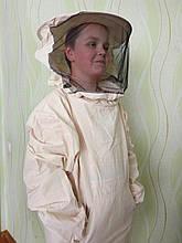 Куртка бджоляра бязь сувора з маскою класикою