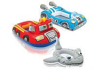 Лодочка 107*69см детская 3в.(59380), Надувная лодочка-плотик, Детская надувная лодка, Лодка плавательная