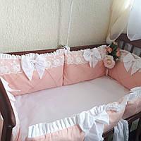 Бортики в кроватку на 4 стороны, фото 1