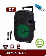 Портативная аудио система AJ8-K FM Bluetooth Mic, фото 1