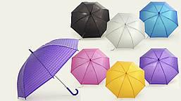Зонт, длина - 55 см,  клеенка с теснением, переливается, в пакете