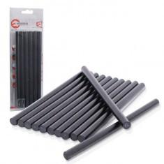 Комплект стрижнів клейових чорних 11,2 мм x 200 мм, 12 шт. INTERTOOL RT-1023