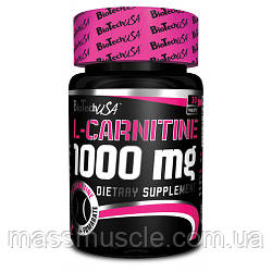 Жиросжигатель BioTech USA L-Carnitine 1000 mg 30 tabs