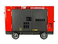 Дизельный генератор 28 Квт безшумный (Германия)