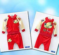 Спортивний костюм Adidas червоний