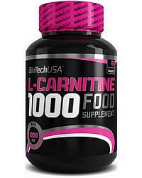 Жиросжигатель BioTech USA L-Carnitine 1000 mg 60 tabs