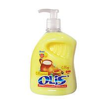 Рідке косметичне мило «Молоко и мед» (З дозатором) 500мл - Olis