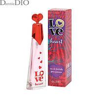 Love Heart edt 35ml #B/E