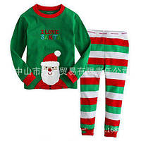 Піжама I Love Santa зелена