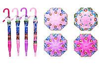 """Зонт """"Принцесса"""", длина - 49 см, диаметр раскрытия - 85 см,  в пакете"""