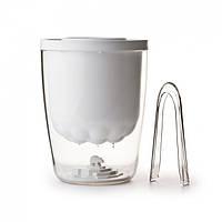 Ведерко для льда Polar Ice Bucket Qualy (белое)