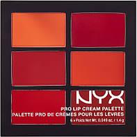 Помада палетка NYX Pro Lip Cream The Nudes #B/E
