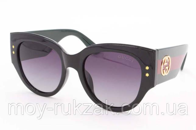 Солнцезащитные очки Gucci, реплика, с поляризацией 753101, фото 2