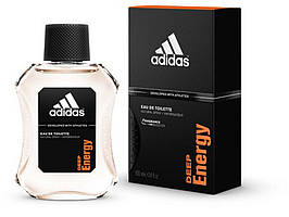 Adidas Deep Energy edt 100 ml (лиц.) #B/E