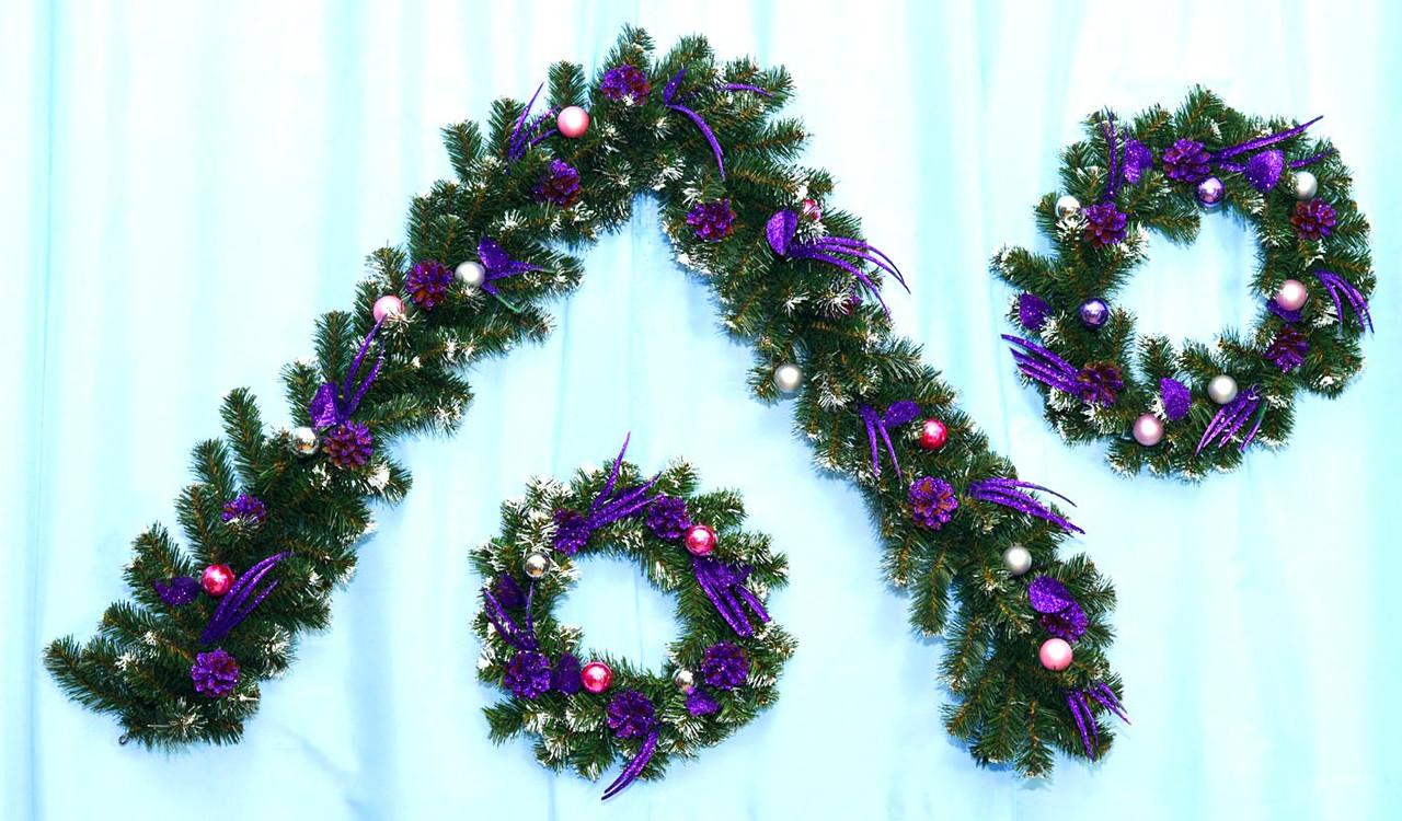 Гирлянда декорированная новогодняя Импульс