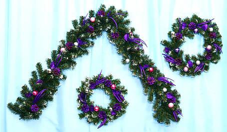 Гирлянда декорированная новогодняя Импульс, фото 2