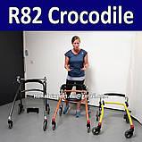 Заднеопорные ходунки для активных детей с ДЦП R82 Crocodile Gait Trainer size 3, фото 5