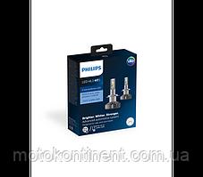 H7 LED Cветодиоды в ближний/дальний  PHILIPS X-treme Ultinon LED Fog 6500K 12985BWX2, фото 2