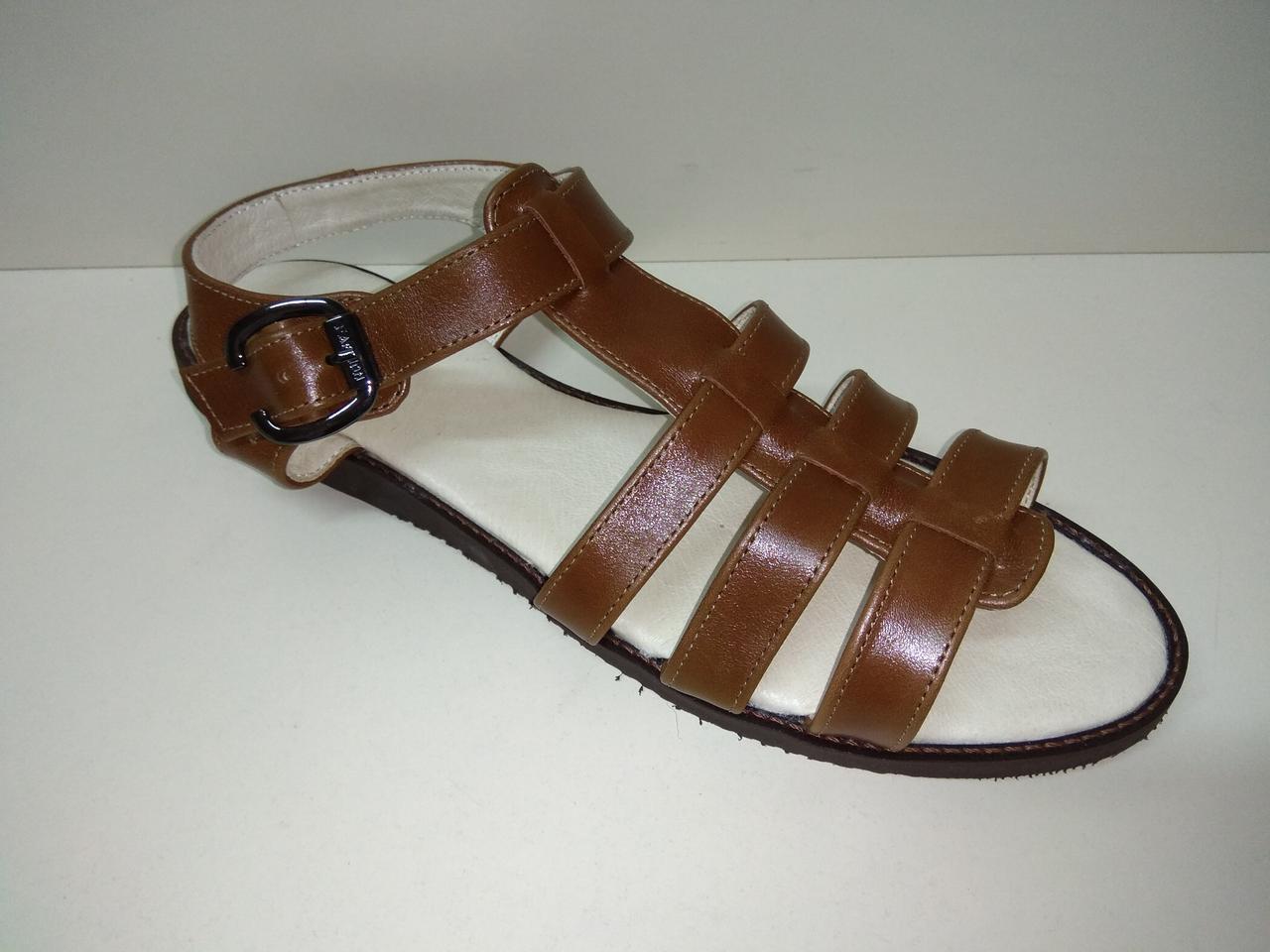 Босоножки сандалии женские рр. 42-44 натуральная кожа цвет коричневый рыжий размер  42 43 03aa2b98f68db