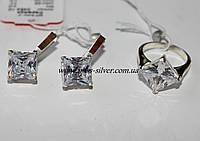 Ромбовидные серебряные изделия Дороти, фото 1