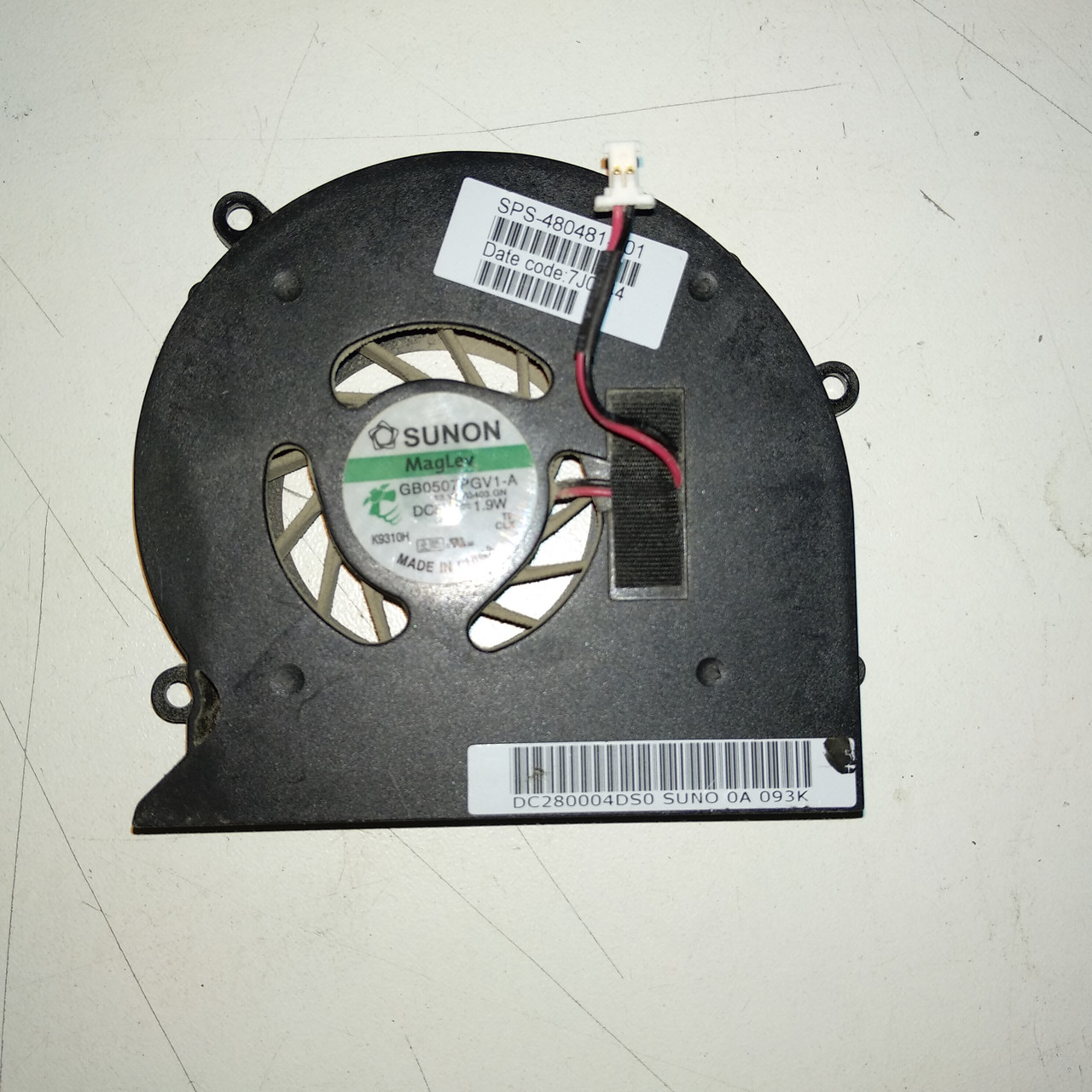 Кулер для ноутбука HP Pavilion dv7 1000(DC280004DS0)
