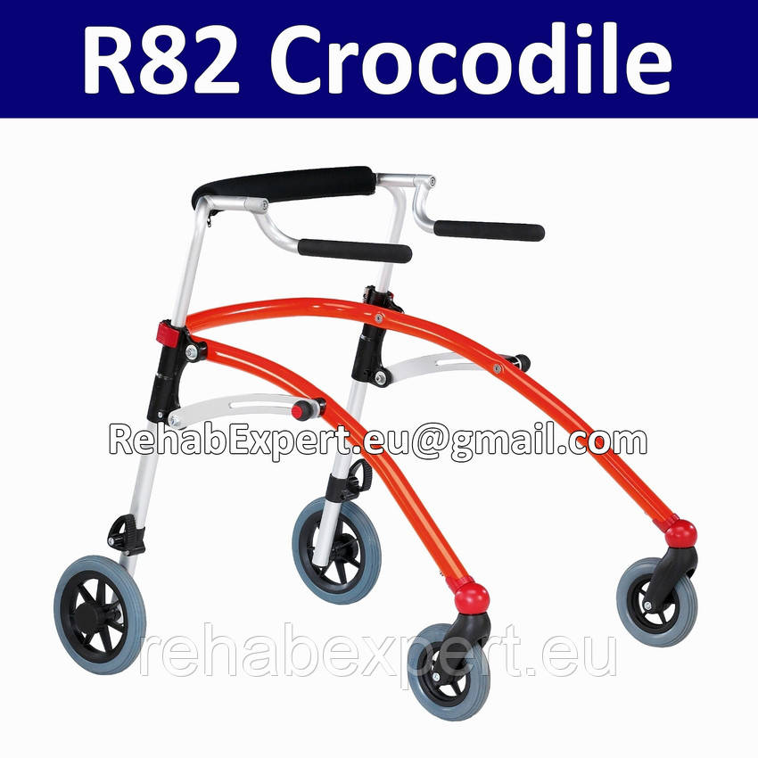 Заднеопорные ходунки для активных детей с ДЦП R82 Crocodile Gait Trainer size 2
