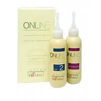 ONLINE PERMANENT WAVE 1, 2 - Химический лосьон для перманентной завивки волос
