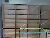 Стеллажи из ДСП для зоомагазина, фото 1