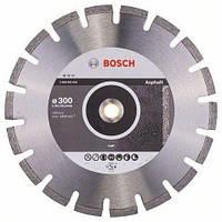 Круг алмазный отрезной Bosch Standart for Asphalt 300х2,8 (2608602624)