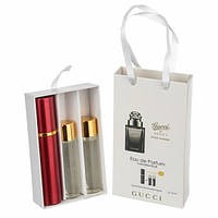 Набор с феромонами Gucci by Gucci Pour Homme (3×15 ml) #T/Y