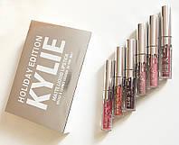 Набор жидких помад Kylie Holiday Edition Matte Liquid Lipstick #T/Y